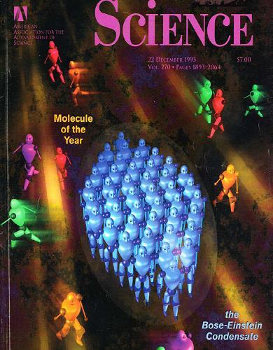 dibujo20090315boseeinsteincondensatemoleculeoftheyearsciencemagazine1995