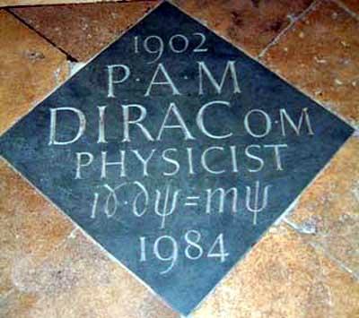 Paul A. M. Dirac y el descubrimiento del positrón - La Ciencia de la Mula  Francis