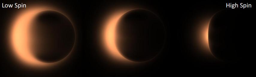 Dibujo20130127 EHT radiotelescopes - theoretical image for sgrAstar