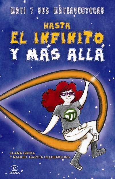 Dibujo20130511 Hasta el infinito y mas alla - book cover - clara grima y raquel garcia