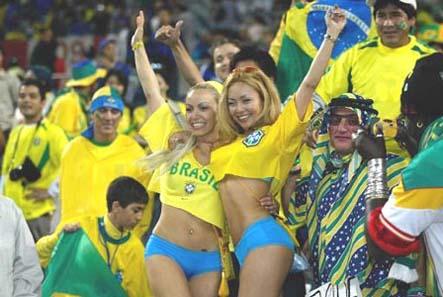 Dibujo20130828 football fans - brazil