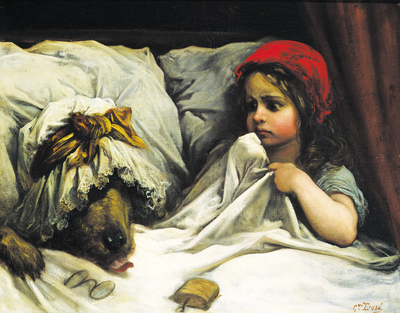 Dibujo20131120 little red riding hood - Mary Evans PICTURE LIBRARY - 503314a-i1