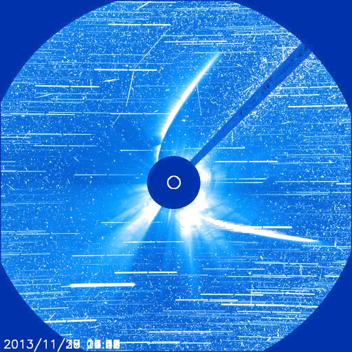 Dibujo20131204 comet ison - StarStaX_20131127_1430_c3_512-20131130_0818_c3_512_lighten