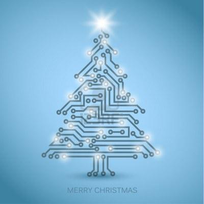 Dibujo20131220 merry christmas -123rf