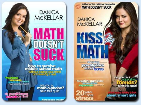 Dibujo20140111 cover of first two books by danica mckellar