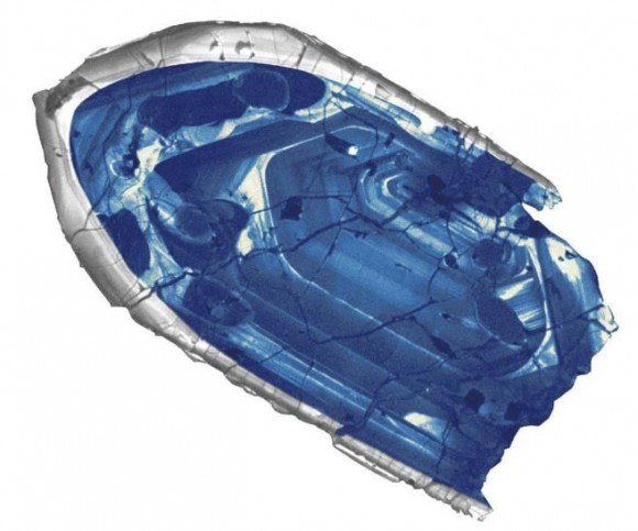Dibujo20140229 Microscopic zircon crystal discovered in Western Australia - nature