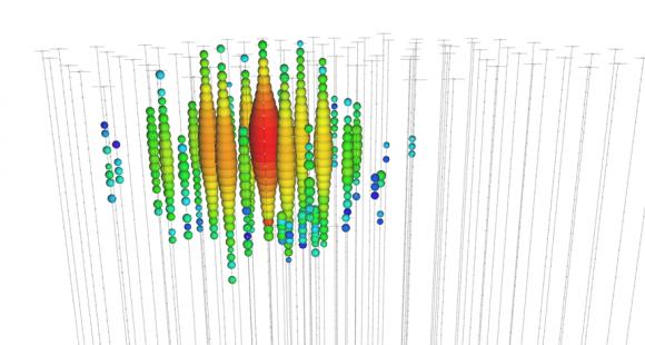 Dibujo20140411 bigbird - highest energetic icecube neutrino