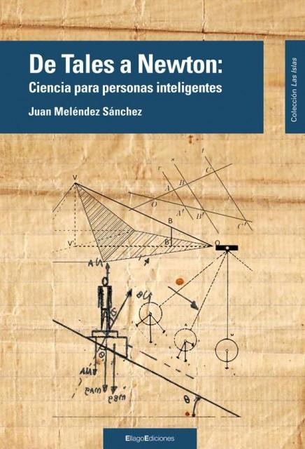 Dibujo20140416 book cover - de tales a newton - juan melendez sanchez