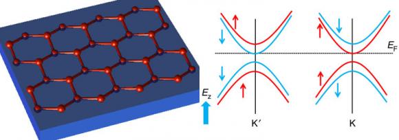 Dibujo20140424 silicene - nearly fully spin-polarized states of silicene - nature comm