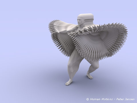 Dibujo20140501 Heel Daoyin - Human Motions - Peter Jansen