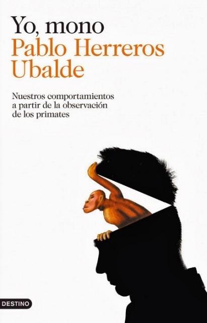 Dibujo20140530 book cover - yo mono - pablo herreros ubalde - destino