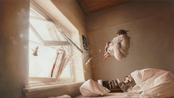 Dibujo20150526 A Perfect Vacuum - photo-realistic oil painting - jeremy geddes