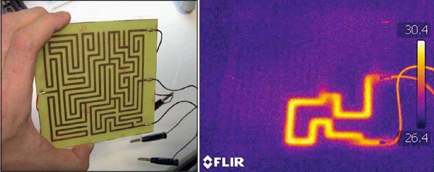 Circuito Electrico Simple Como Hacerlo : La corriente eléctrica puede resolver un laberinto en un circuito