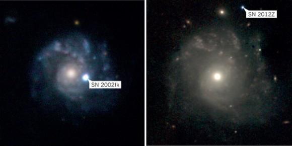 Dibujo20140807 ngc 1309 galaxy - sn 2002fk - sn 2012z - nature