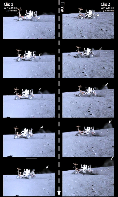 Dibujo20140816 Two clips from the Apollo 16 - clip 1 left - clip 2 right - AJP AAPT