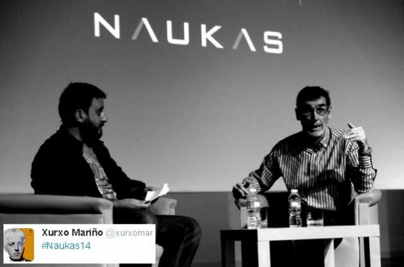 Dibujo20140929 naukas14 - aberron interview jj cadenas - neutrinos - photograph by xurxo marino