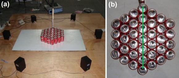 Dibujo20141104 experimental arrangement - can metamaterial - arxiv