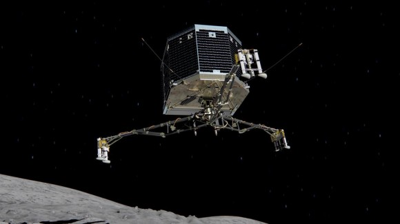 Dibujo20141117 Rosetta mission - Philae lander - successful mission - ESA