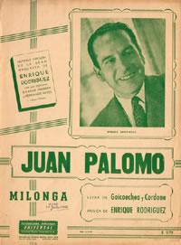 Dibujo20141127 Juan Palomo - milonga - music disk cover