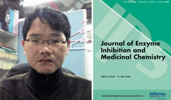 Dibujo20141127 dr moon - south korea - cover journal enzyme inhibition - informa