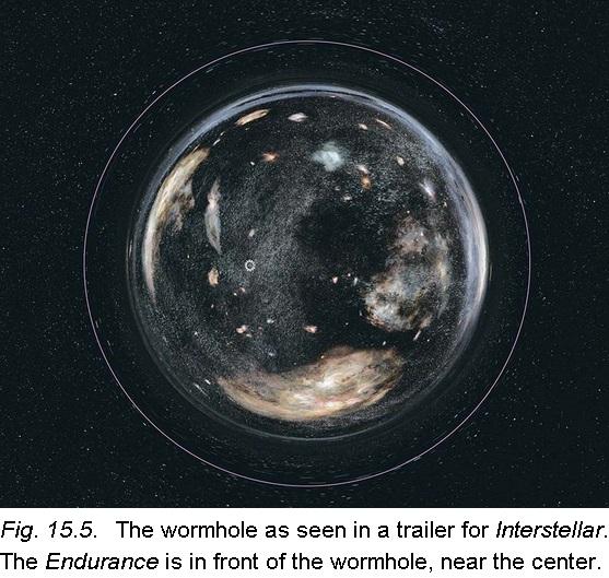 Dibujo20141130 wormhole seen trailer interstellar - kip thorne book - interstellar science