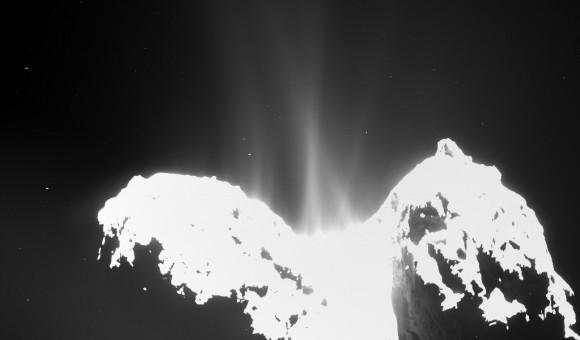 Dibujo20141214 68p comet - rosetta image - esa
