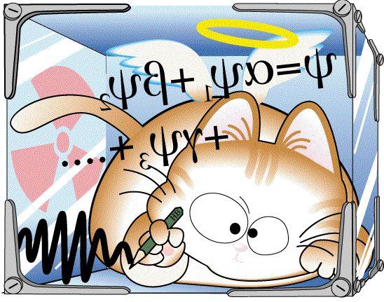 Dibujo20150107 Ghirardi Rimini Weber non-linear quantum theory - Schrodinger cat - vega00 com