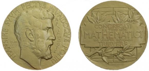 Dibujo20150120 Fields Medal - obverse - reverse - public domain