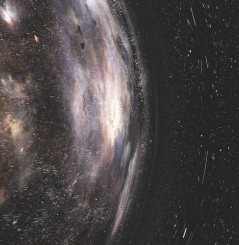 Dibujo20150213 insterstellar movie - einstein ring - motion blur - virtual camera shutter - AJP