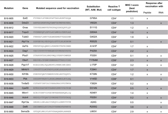 Dibujo20150425 Immunogenic B16F10 mutations - nature com