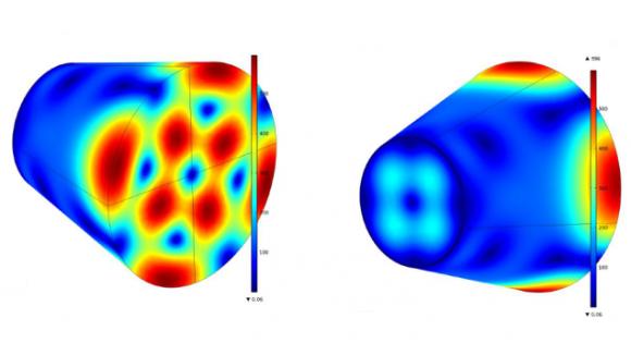 Dibujo20150505 comsol result - tapered rf model - harold white - ntrs nasa gov