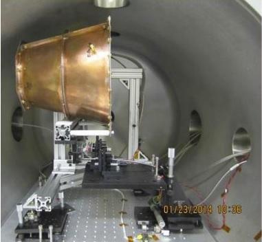 Dibujo20150505 emdrive - tapered microwave cavity test mounted on torsion pendulum