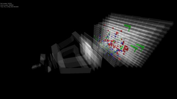 Dibujo20150521 lhcb - proton collision 13 tev - lhcb lhc cern