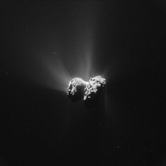 Dibujo20150627 rosetta - 67p comet - esa
