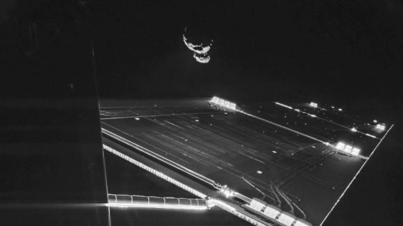 Dibujo20150627 rosetta - philae - 67p comet - esa