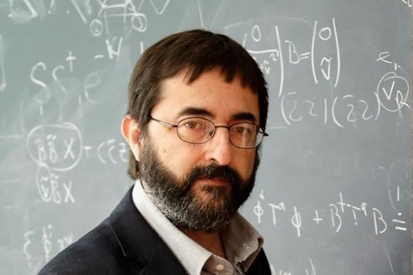Dibujo20150725 Fernando Quevedo - spanish string theorist