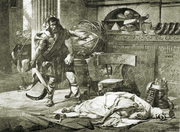Dibujo20150820 Edouard Vimont 1846-1930 Archimedes death - wikipedia commons