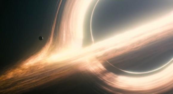 Dibujo20150908 gargantua black hole - interstellar movie