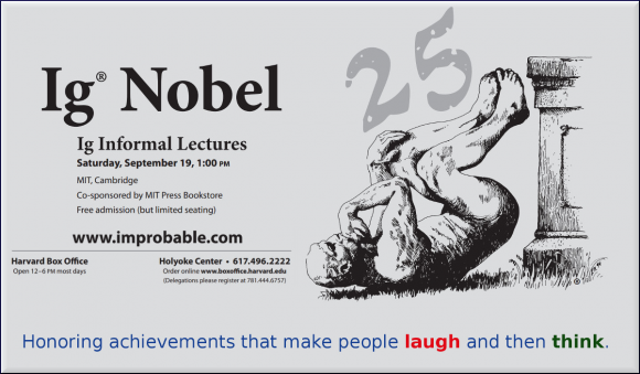 Dibujo20150922 ig nobel 2015 - 25th ceremony - poster - improbable com
