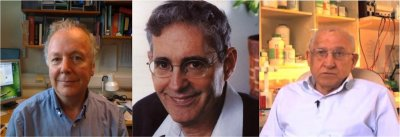 Dibujo20150930 Aharon Razin - Howard Cedar - Adrian P Bird - nobel medicine candidates
