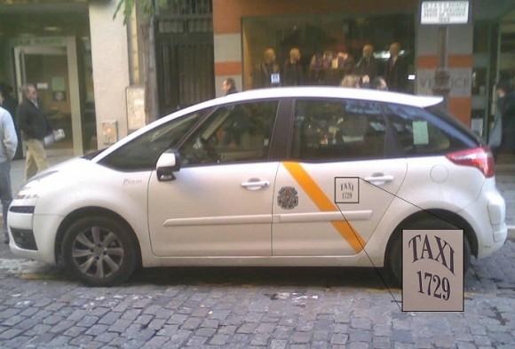 Dibujo20151019 taxi 1729 tito eliatron sevilla