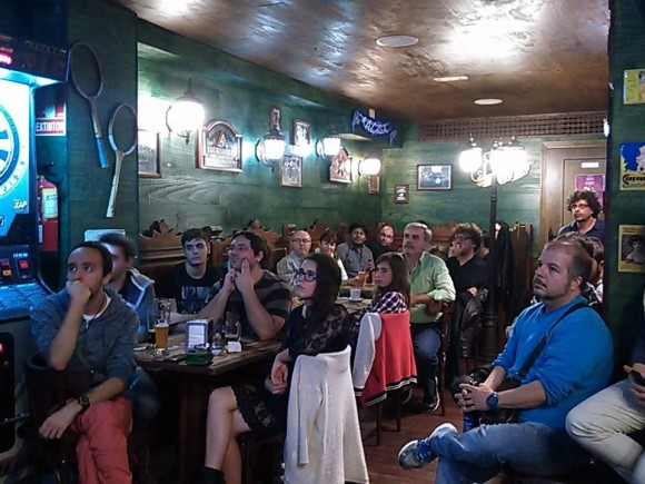 Dibujo20151113 publico BeerForScience Malaga photo Uciencia