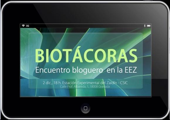 Dibujo20151130 biotacoras encuentro bloguero en la eez granada