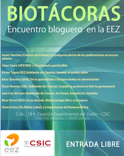 Dibujo20151130 programa biotacoras encuentro bloguero eez granada