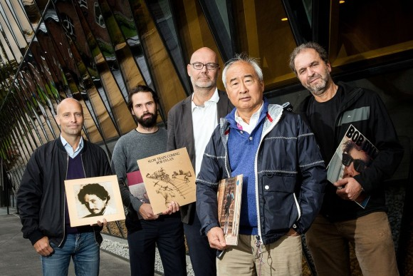 Dibujo20151220 scientists and dylan fans at the karolinska institute photo by Gustav Martensson bmj