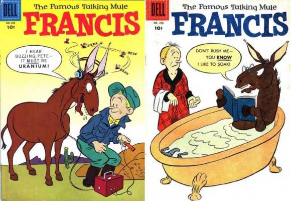Dibujo20151231 comic covers francis the famous talking mule