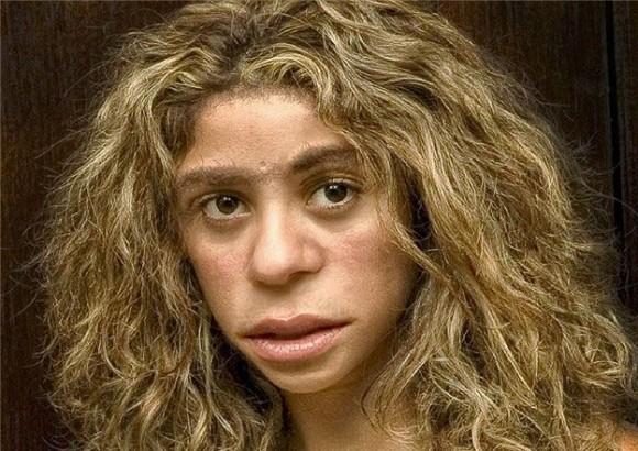 Dibujo20160220 neanderthal woman - pinterest com