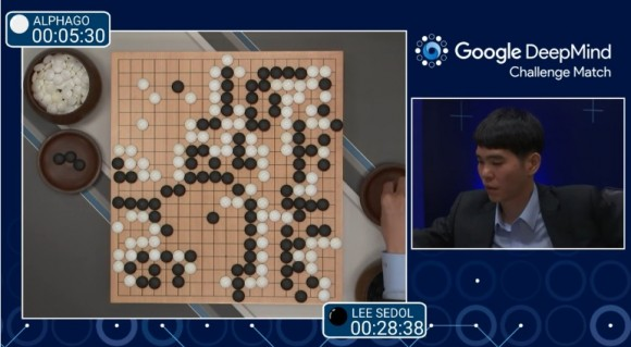 Dibujo20160309 alphago vs sedol match 1 google deepmind challenge youtube