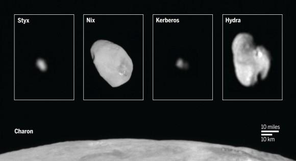 Dibujo20160403 pluto moons charon styx nix kerberos hydra new horizons nasa