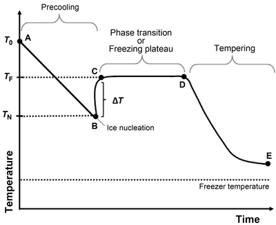 Dibujo20160426 typical freezing curve onlinelibrary wiley com crf312202-fig-0001
